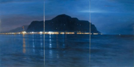 Ettore de Concilis - Palermo at Night